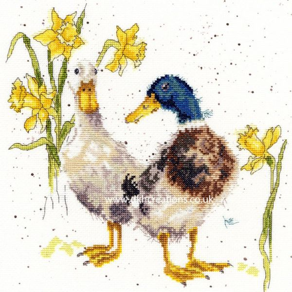 Ducks & Daffs Cross Stitch Kit